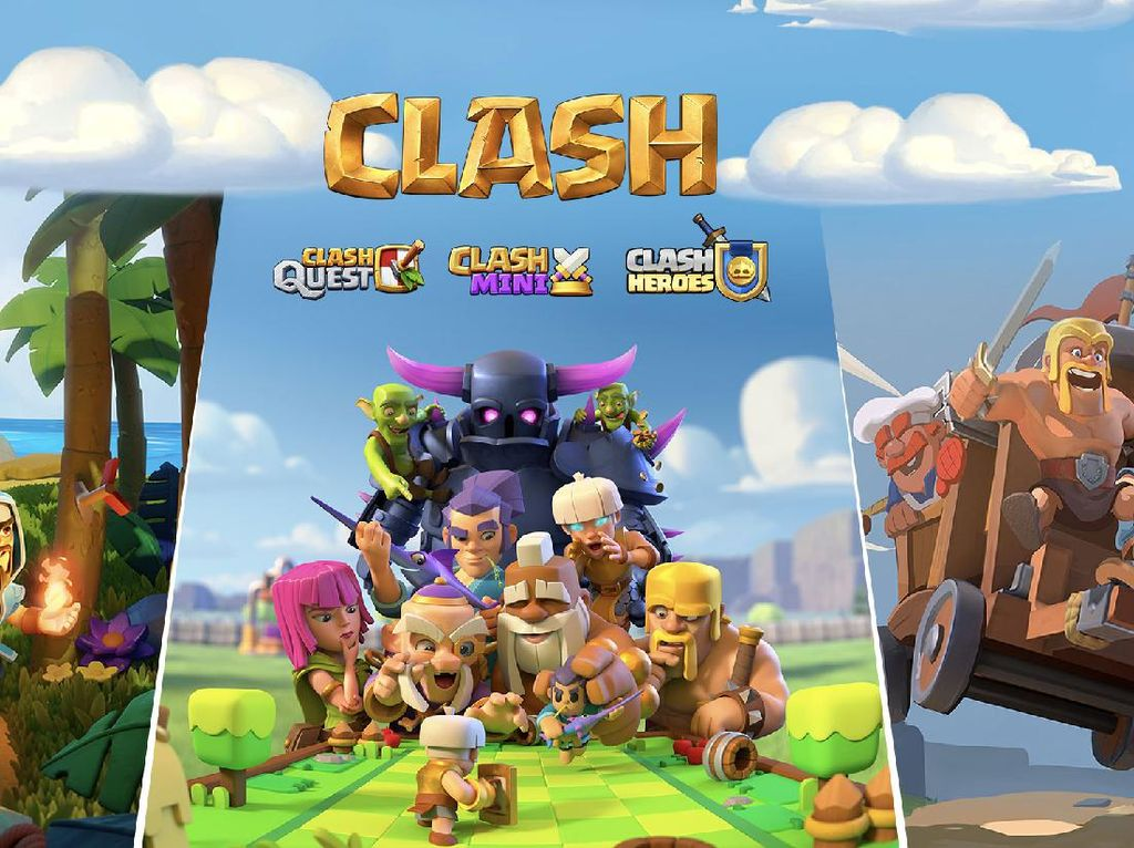 3 Game Baru Supercell, Saudaranya Clash of Clans