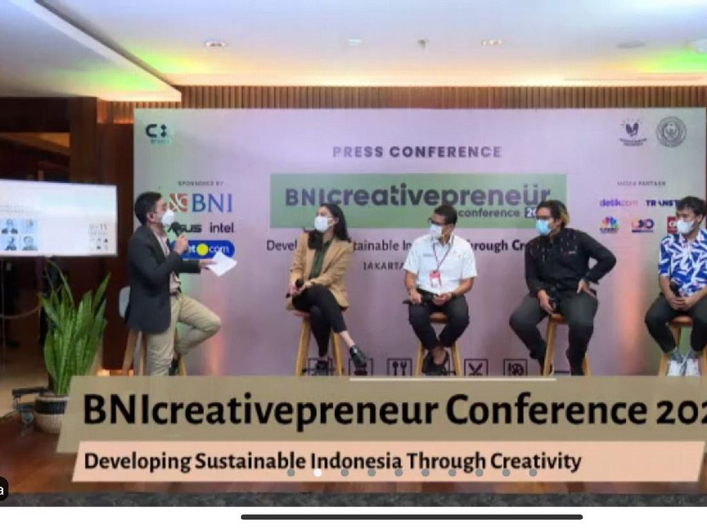 BNIcreativepreneur Digelar 9-11 April, Live di detikcom