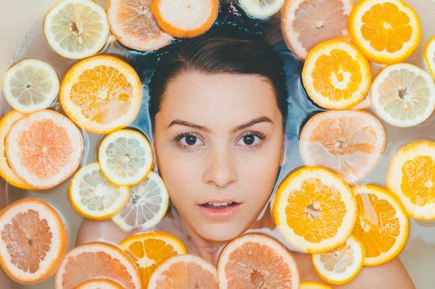 Produk dengan antioksidan sebagai anti aging yang baik.