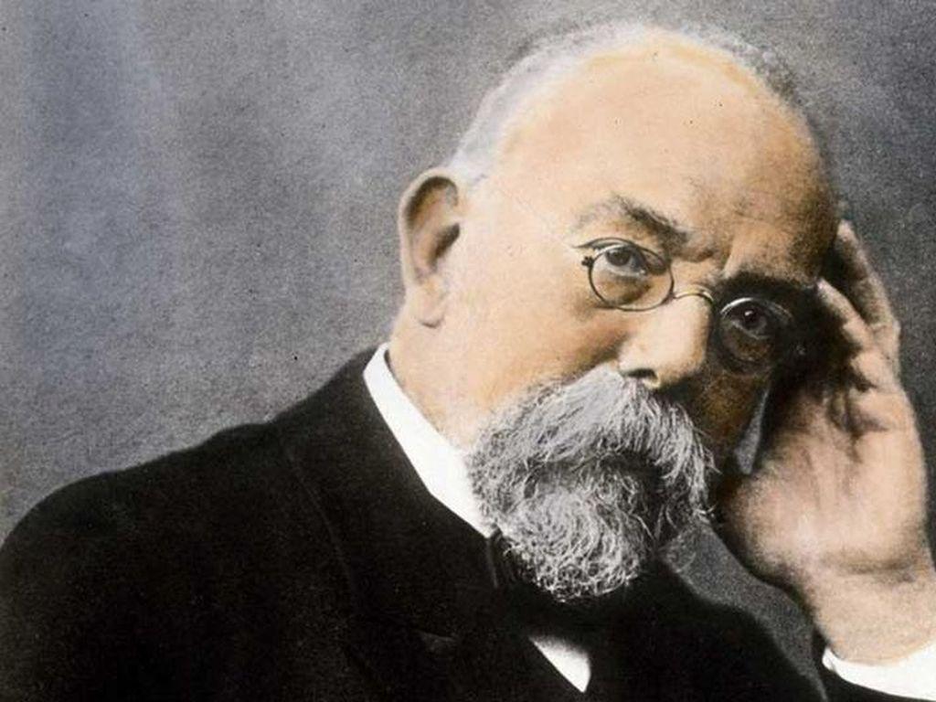 Ilmuwan Jerman Robert Koch dan Dunia Mikroba yang Menarik Perhatiannya