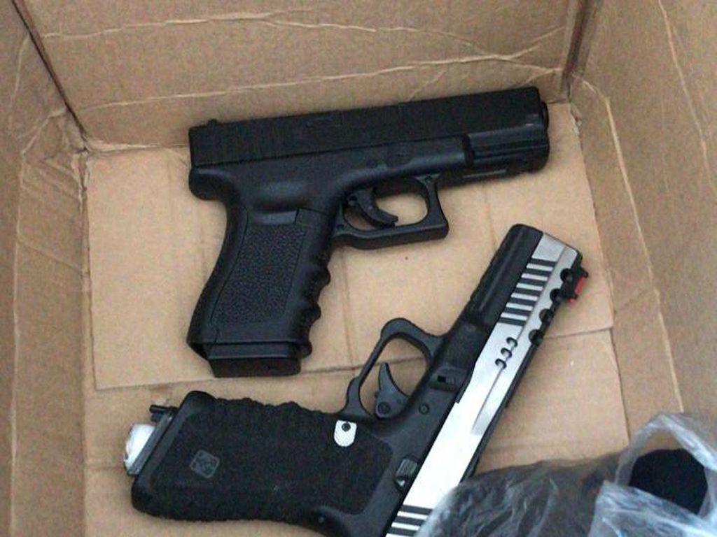 Polisi Geledah Rumah Pengemudi Fortuner Koboi, Ditemukan Air Gun