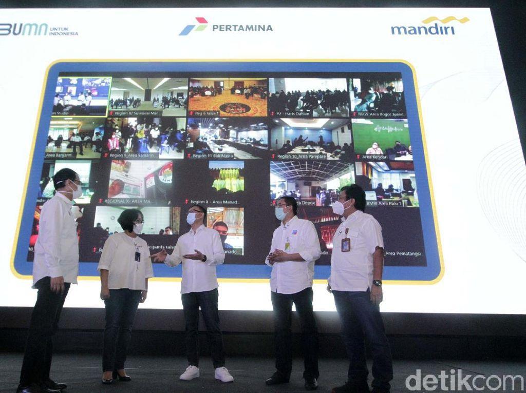 Lewat Webinar Bank Mandiri-Pertamina Perberdayaan UMKM