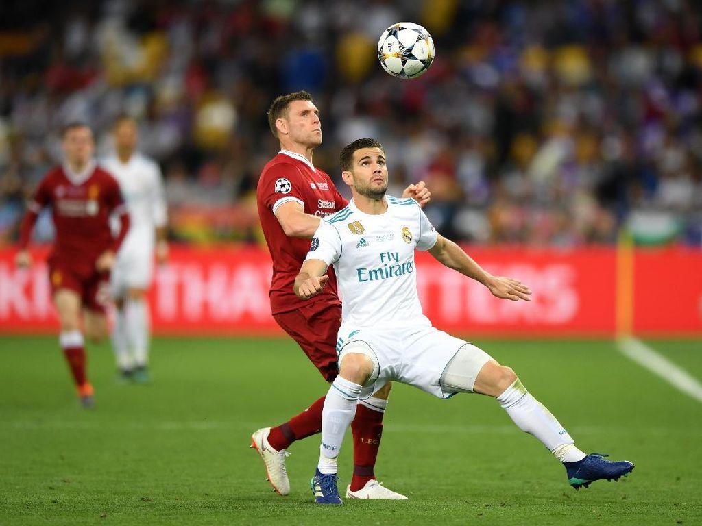 Salah Nilai Liverpool dan Madrid Sama Kuat, Nacho Sepakat