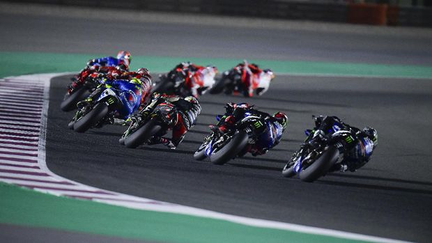Balapan MotoGP Doha 2021.