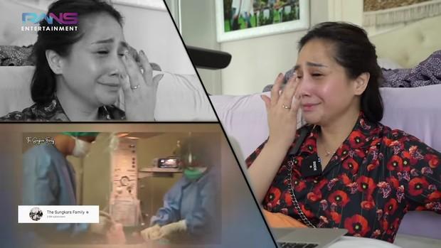 Nagita terharu melihat momen lahiran Zaskia Sungkar/youtube.com/RansEntertainment