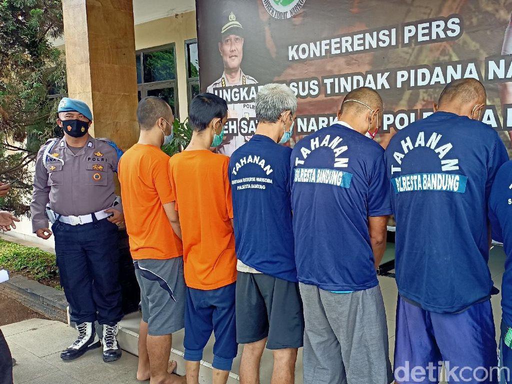 Terjerat Kasus Narkoba, 28 Warga Kabupaten Bandung Ditangkap Polisi