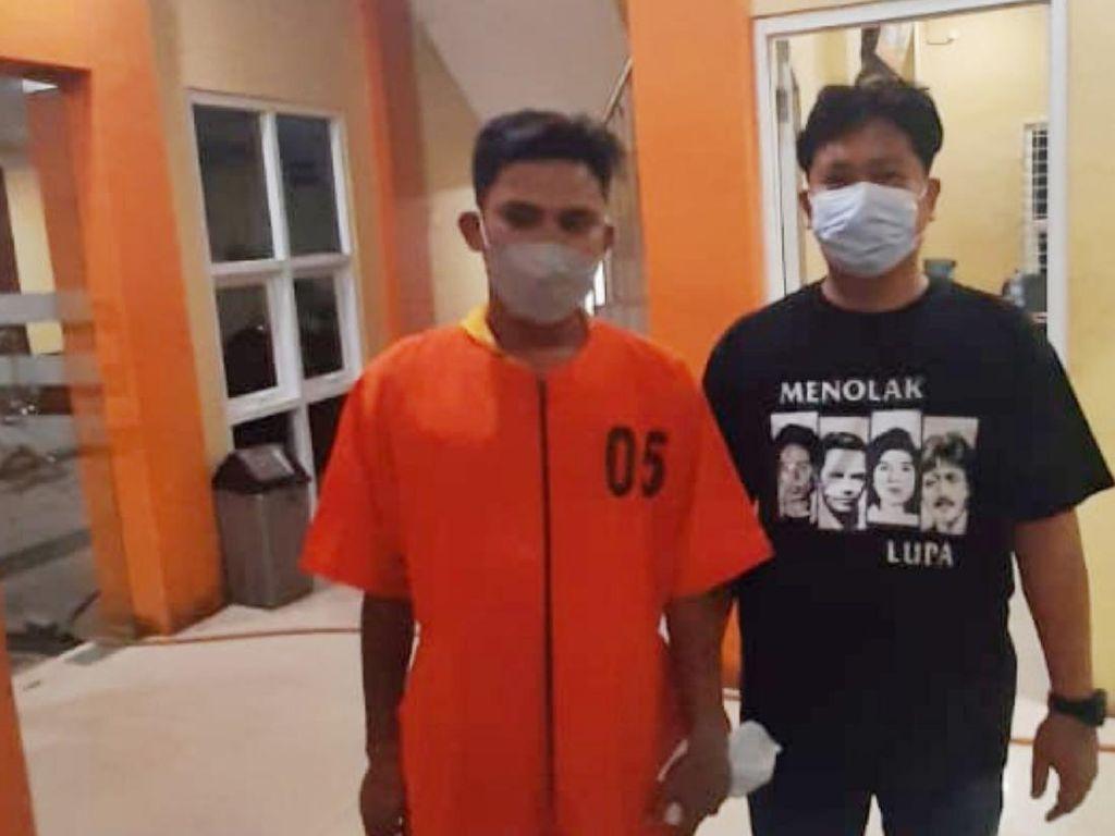 Preman Pasar Pembacok Sopir Angkot di Palembang Ditangkap