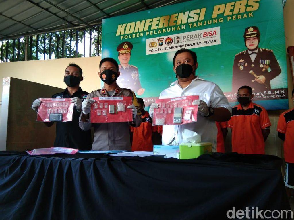 Oknum Wartawan di Surabaya Digerebek Saat Pesta Sabu