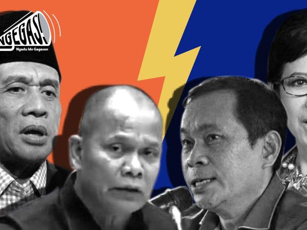 Saling Ngegas Anggota DPR Bahas RUU Minol!