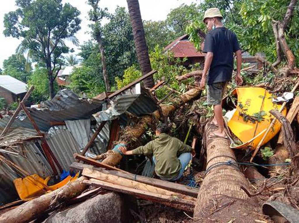 Wagub NTT: Pengungsi Akibat Bencana di Lembata 332 Orang, Malaka 56