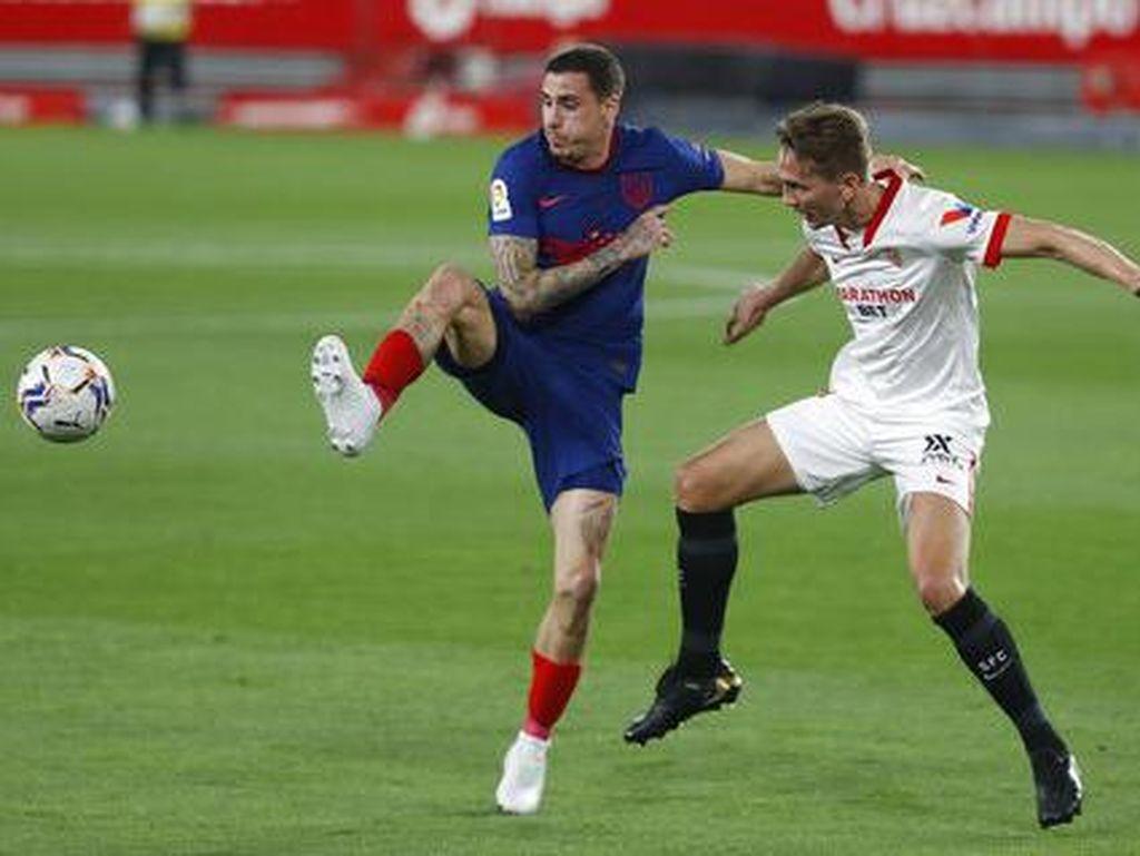 Sevilla Vs Atletico: Luis Suarez dkk Kalah 0-1