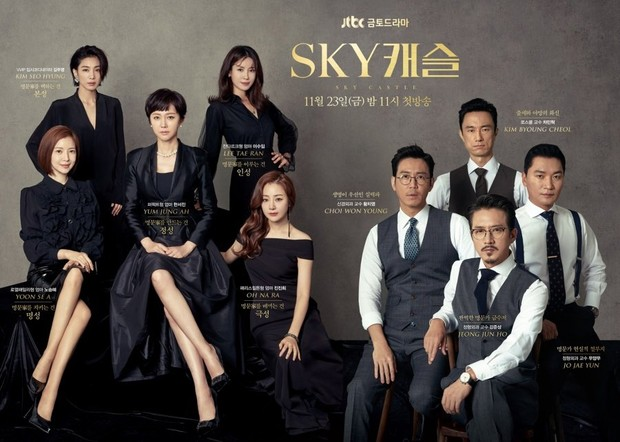 Drama SKY Castle yang menceritakan kisah persaingan dalam dunia pendidikan dengan berbagai tuntutan menguras emosi.