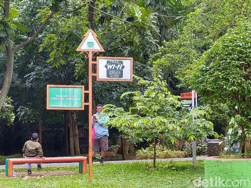 Bandung ke-28 Smart City Dunia, Tapi WiFi Taman Enggak Aktif