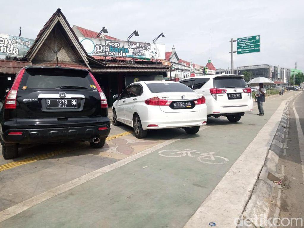 Ini Langkah Pemkot Tangsel Cegah Parkir Liar di Trotoar Jalan Rawa Buntu