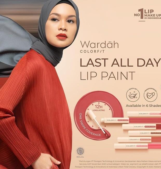 Wardah Colorfit Last All Day Lip Paint