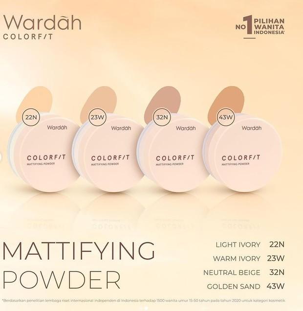 Wardah Colorfit Mattifying Powder