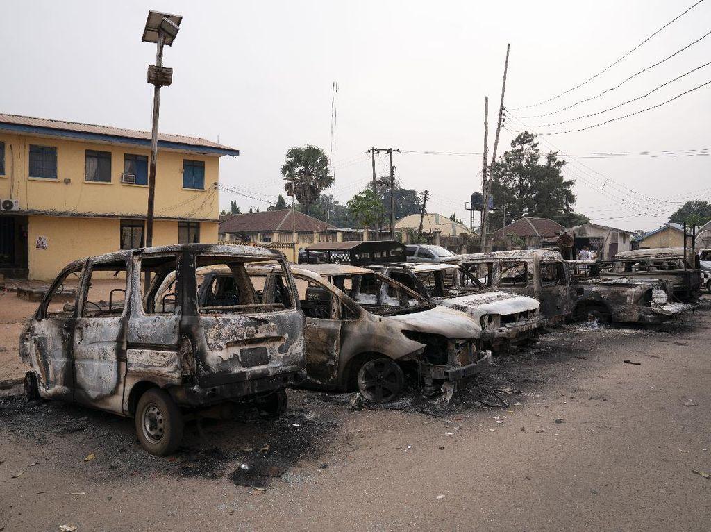1.800 Narapidana Kabur Usai Penjara Nigeria Diserang