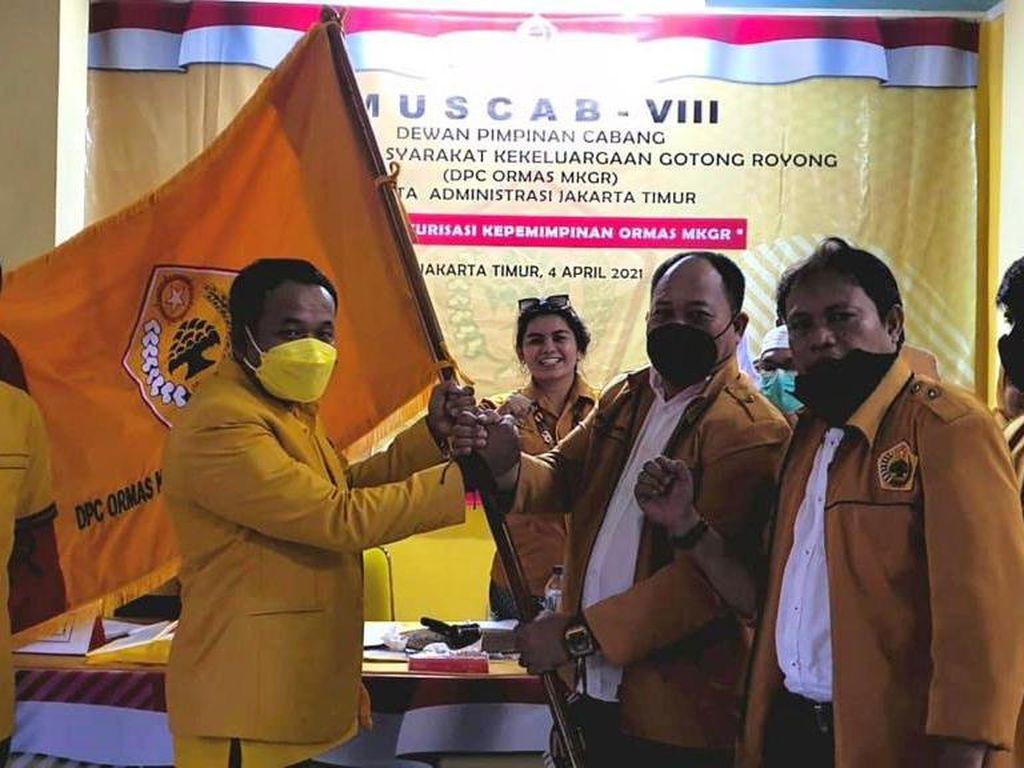 Agus Harta Jadi Ketua DPC MKGR Jakarta Timur