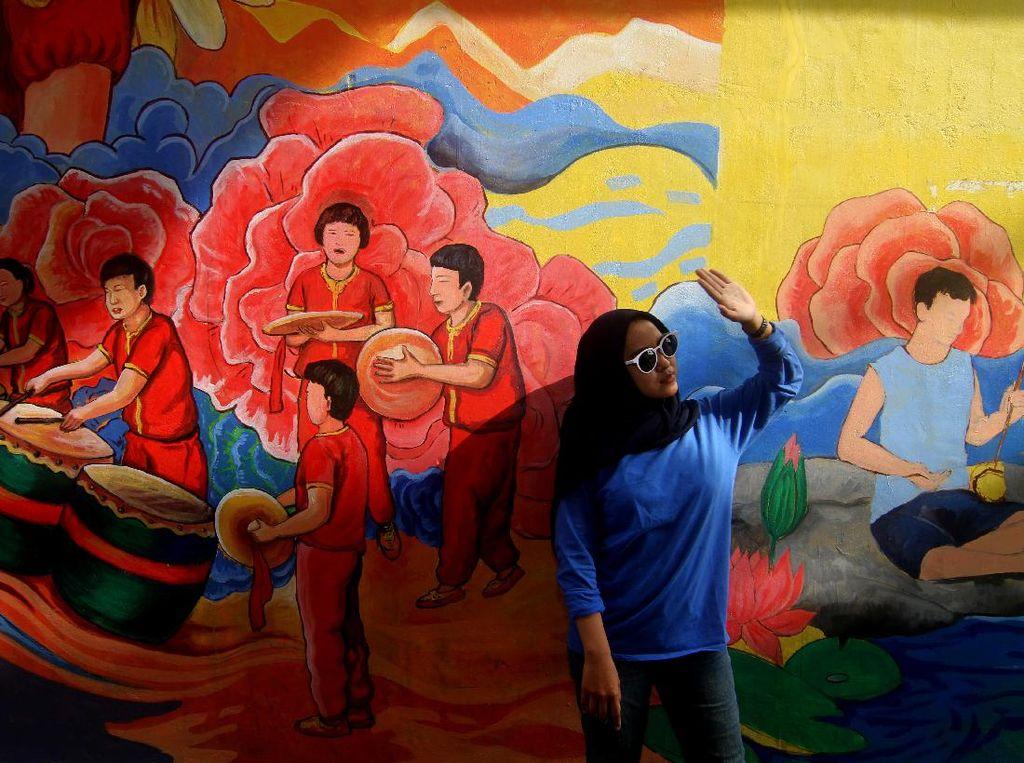 Terpukau Destinasi Wisata Mural Pecinan di Pontianak