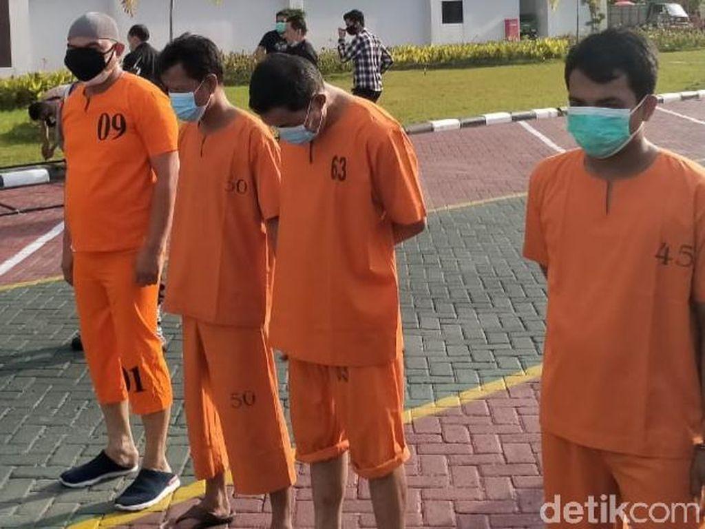 Kompol Yuhanies cs Ternyata Nyabu di Belakang Rumdin Wagub Riau!