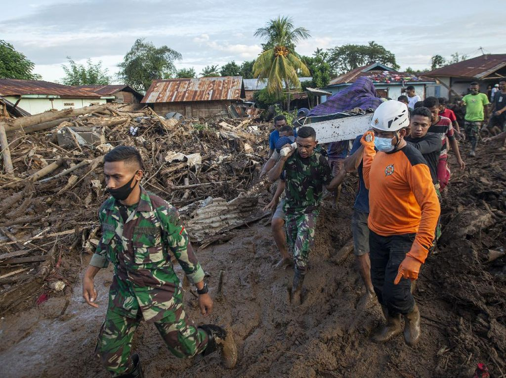 Siklon Tropis Seroja Menewaskan 119 Jiwa