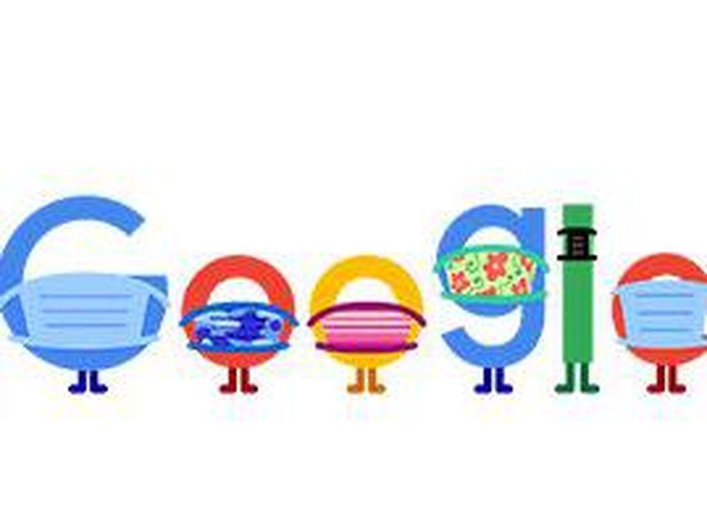 Google Doodle Hari Ini Ingatkan Cara Pencegahan Covid-19