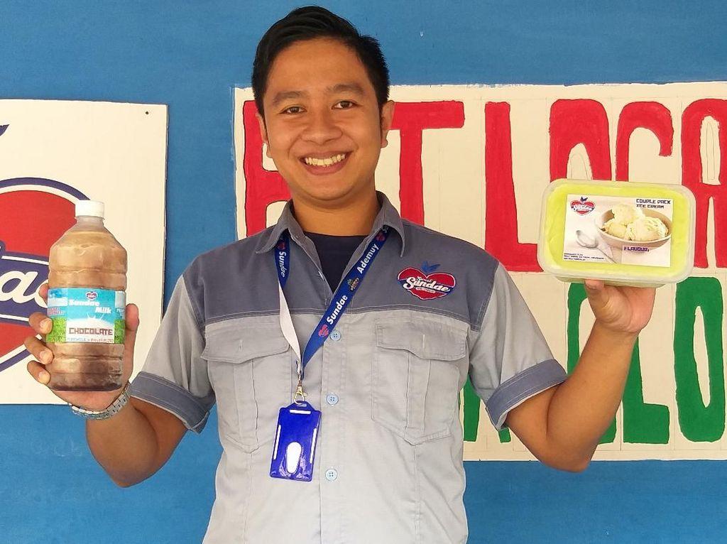 Kisah Pengusaha Es Krim di Yogyakarta Berdayakan Peternak Sapi Lokal