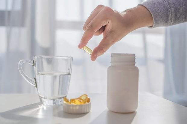 Ilustrasi suplemen vitamin D.
