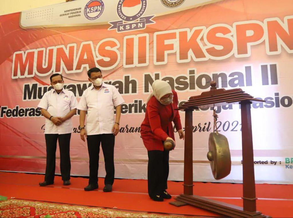 Munas FKSPN, Menaker Ajak Serikat Buruh Perkuat Dialog Ketenagakerjaan