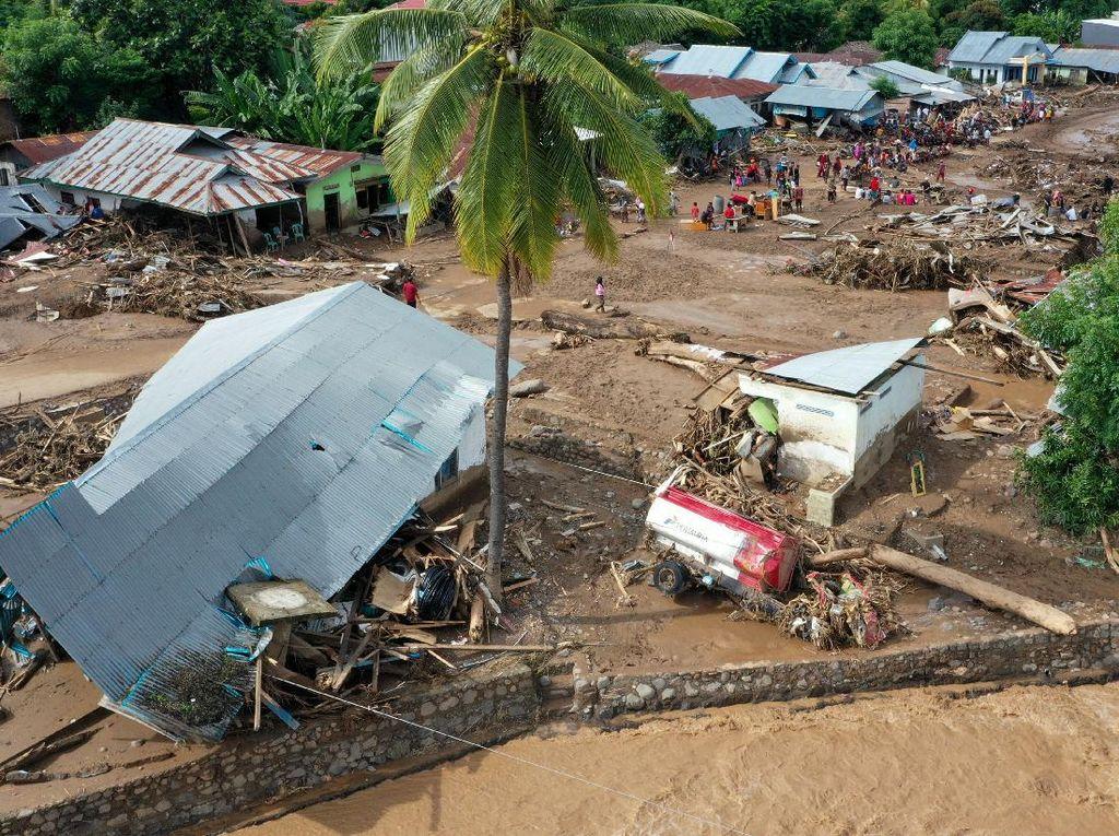 Korban Tewas Bencana Alam NTT Naik Jadi 138 Orang