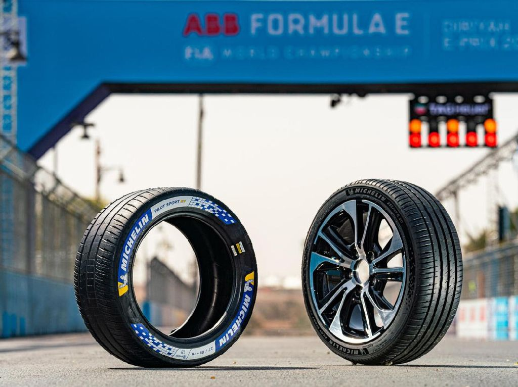 Michelin Bikin Ban Khusus Mobil Sport Listrik, Ini Keunggulannya