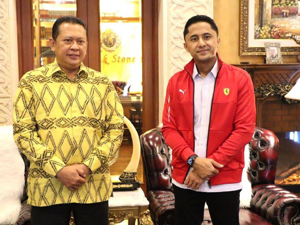Bamsoet Dukung Rencana Pembangunan Sirkuit Road Race di Bandung Barat