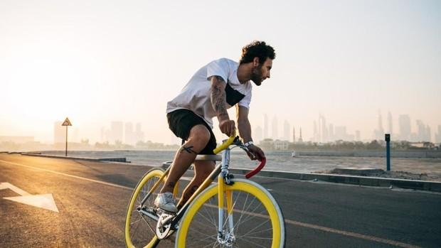 Olahraga sore sebelum berbuka puasa Foto:pinterest/alignsomatic