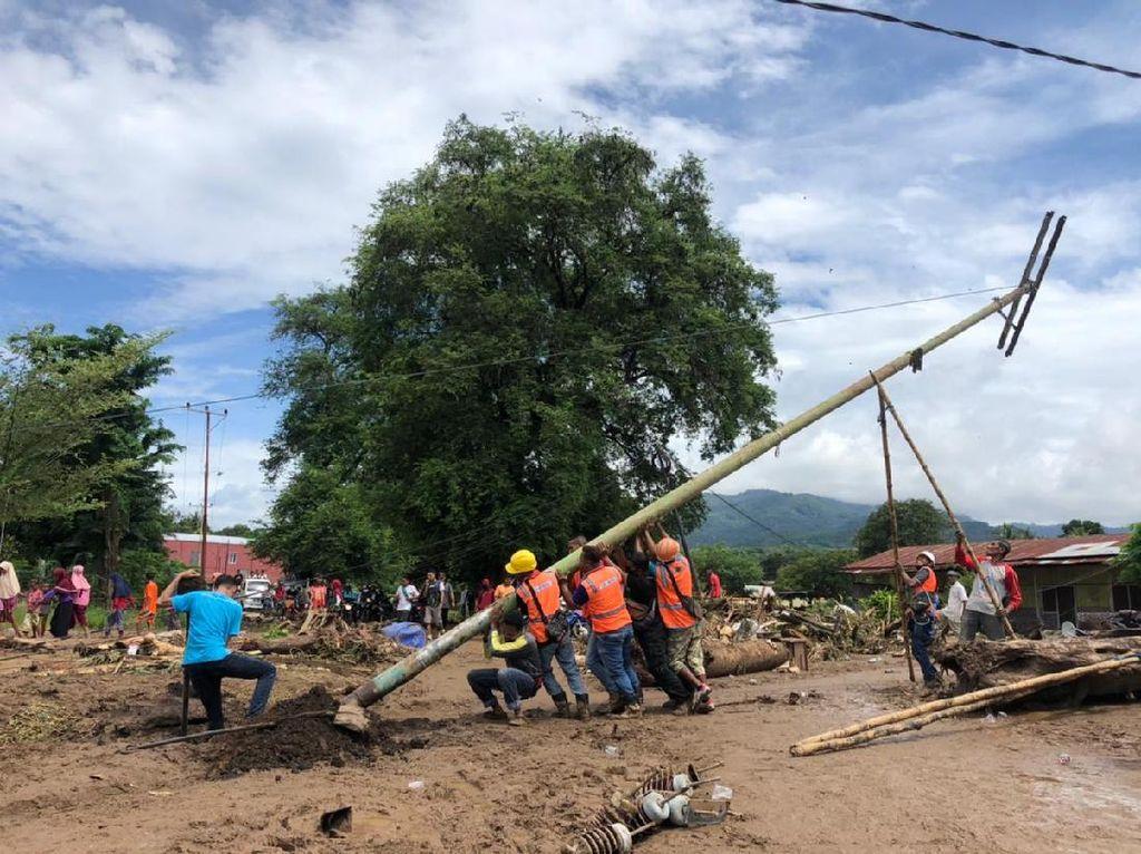Diterjang Badai Seroja, 359 Gardu Listrik di NTT Kini Kembali Pulih
