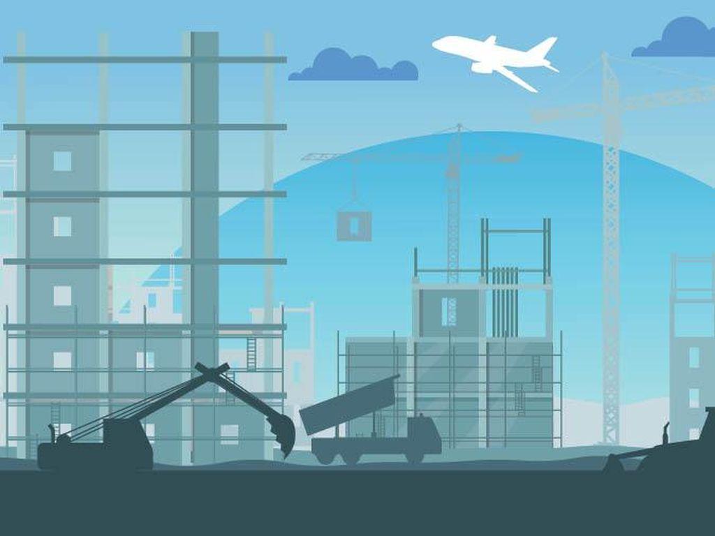 Proyek Infrastruktur Jokowi Tertunda Gara-gara Corona