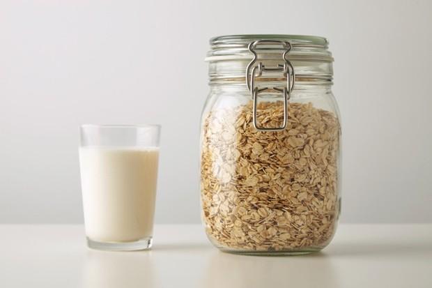 Susu oat.