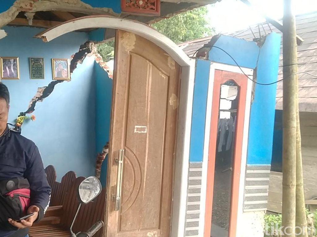 Bencana Tanah Gerak di Watukumpul Pemalang, Puluhan Rumah Rusak