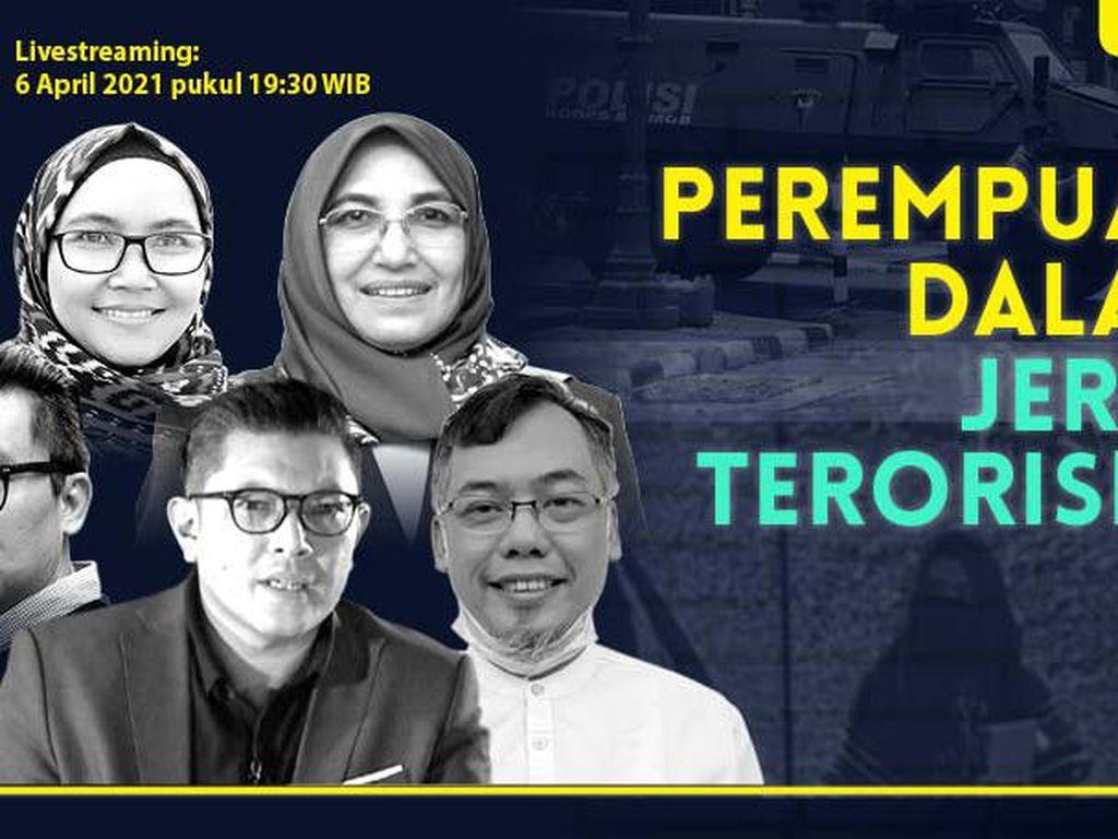 DRooftalk: Perempuan Dalam Jerat Ideologi Teroris