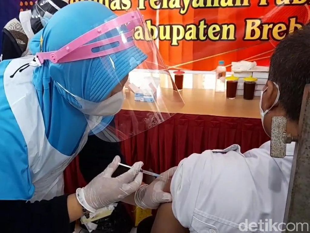 Dinkes Brebes Tetap Vaksinasi Saat Ramadhan, Dikemas Buka Puasa Bersama