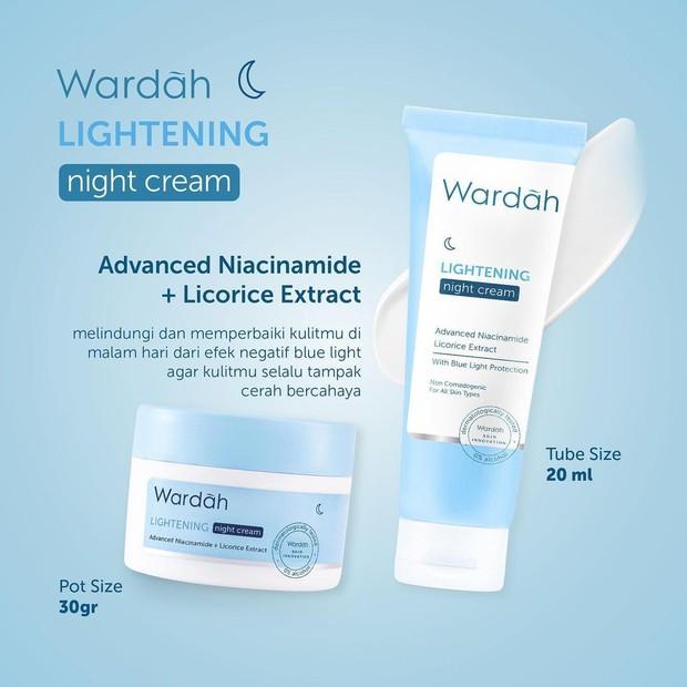 wardah white secret vs lightening series