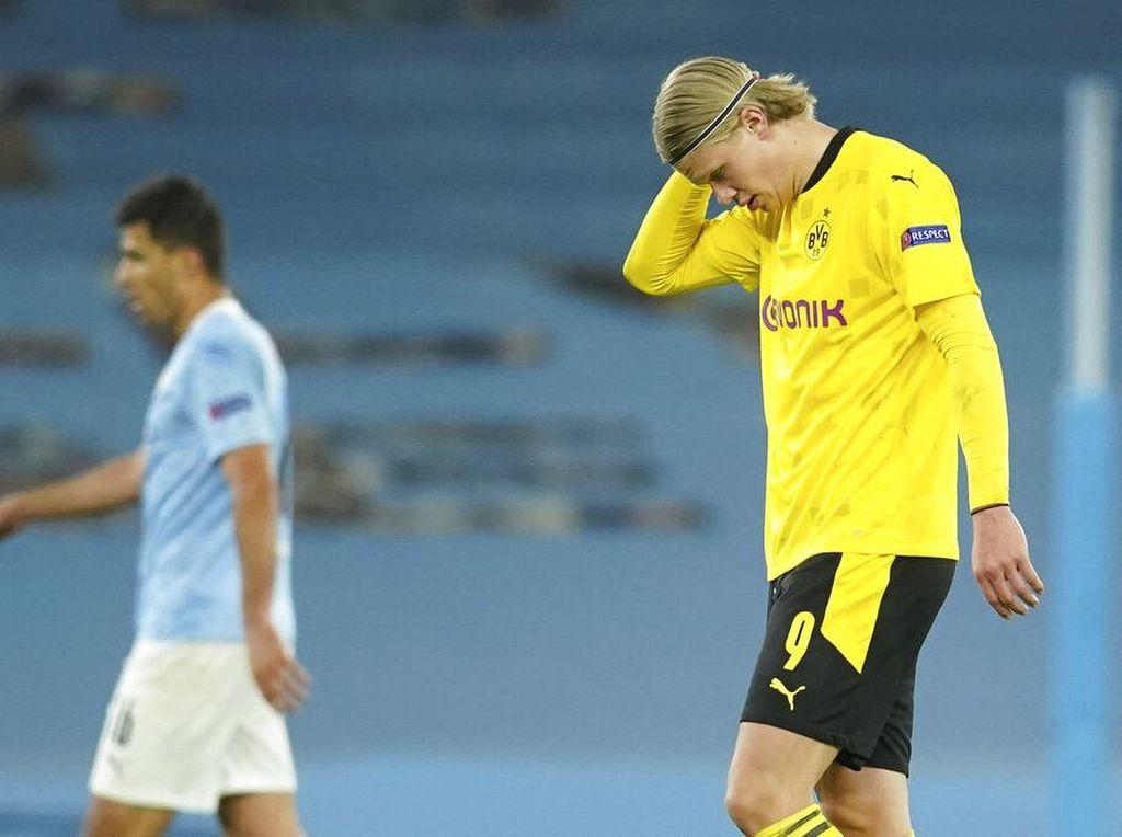 Top Skor Liga Champions: Haaland Masih Teratas meski Diredam City