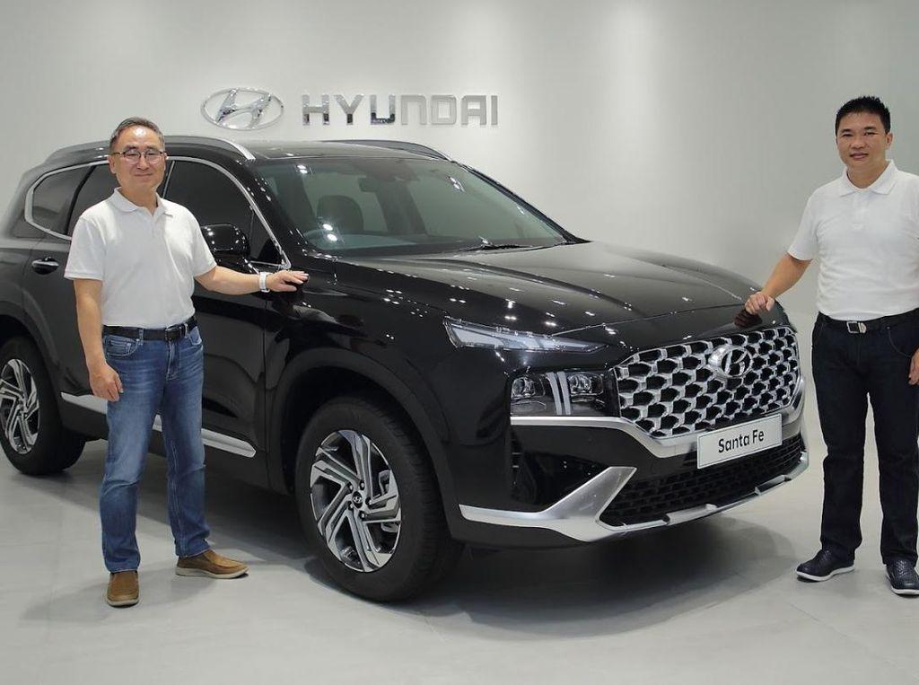 Hyundai New Santa Fe Meluncur di Indonesia, Harga Mulai Rp 569 Juta
