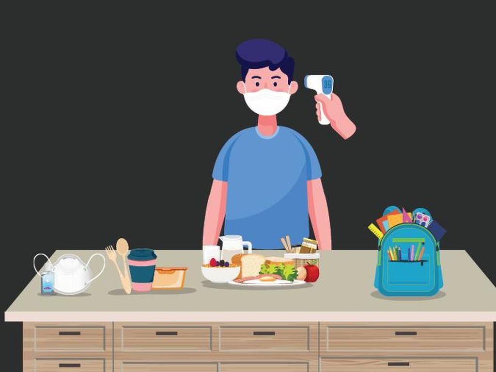 Sebelum Berangkat Sekolah, Perhatikan Protokol Kesehatan Ini Ya