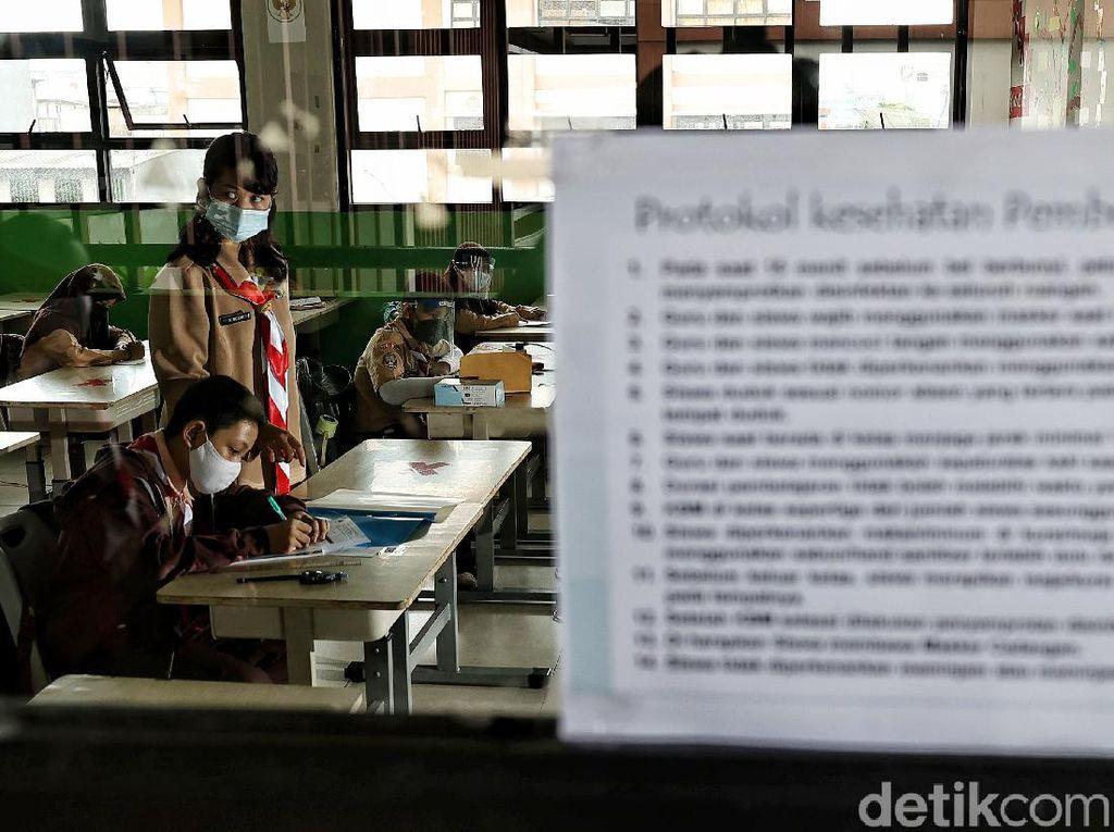 Evaluasi Sekolah Tatap Muka, Organisasi Guru: Banyak Pelanggaran Prokes
