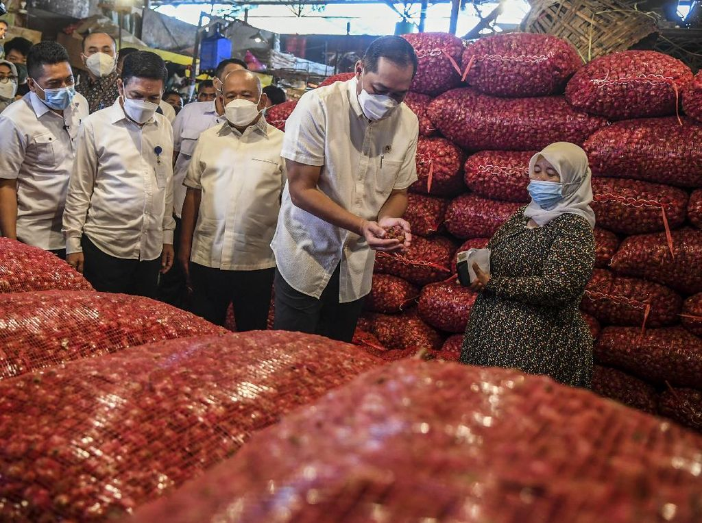 Jelang Ramadhan Mendag Blusukan ke Pasar Kramat Jati