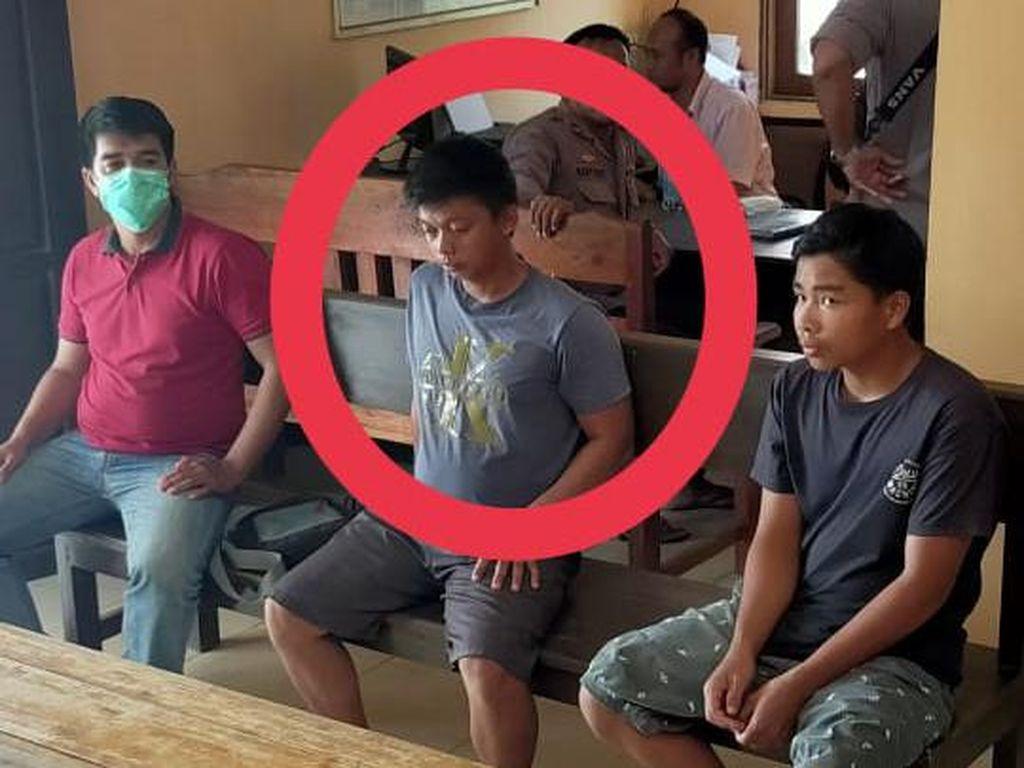 Tampang Pemotor Penembak Mobil Anggota DPRD Sintang