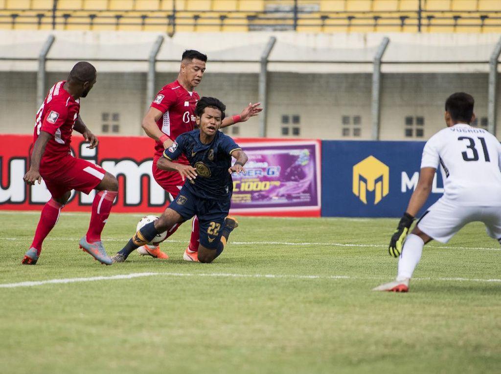 Hasil Piala Menpora 2021: Sengit, Persela Vs Persik Tuntas 2-2