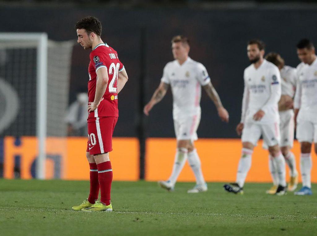 Babak Pertama Menyedihkan Liverpool di Markas Real Madrid
