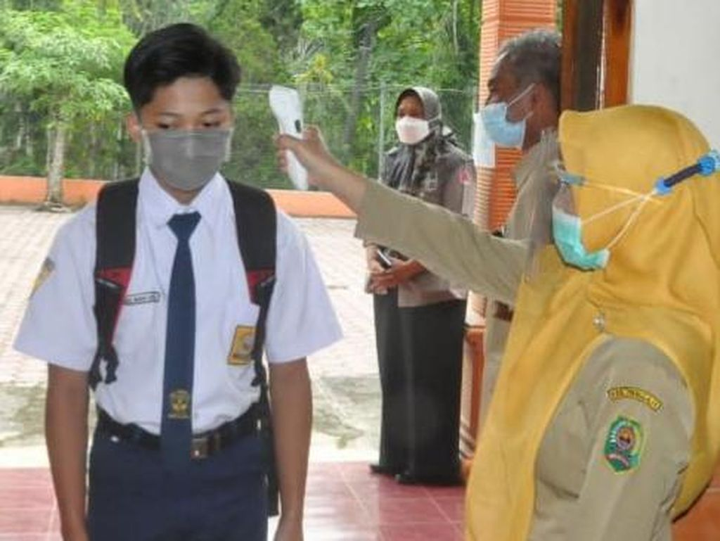 84 SMP di Trenggalek Mulai Jalankan Sekolah Tatap Muka