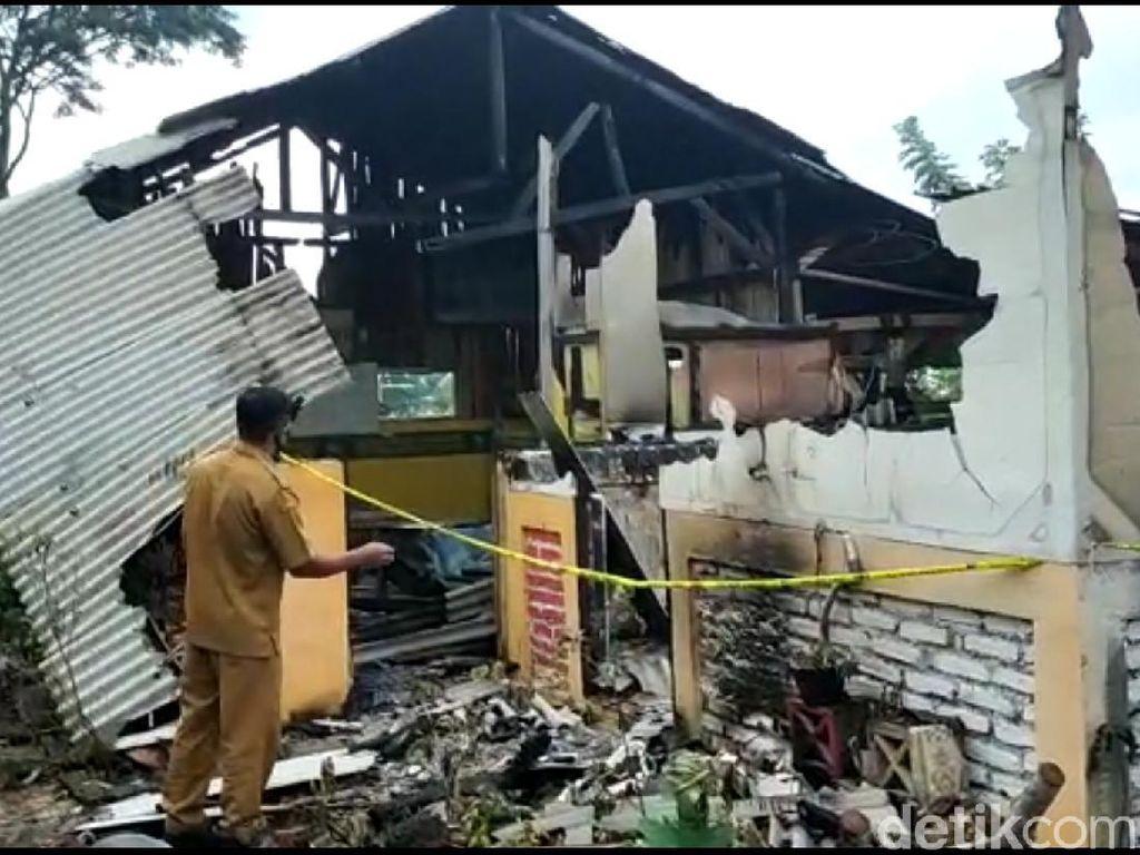 Penampakan Tempat Ngaji Dibakar Warga Garut Gegara Guru Cabul
